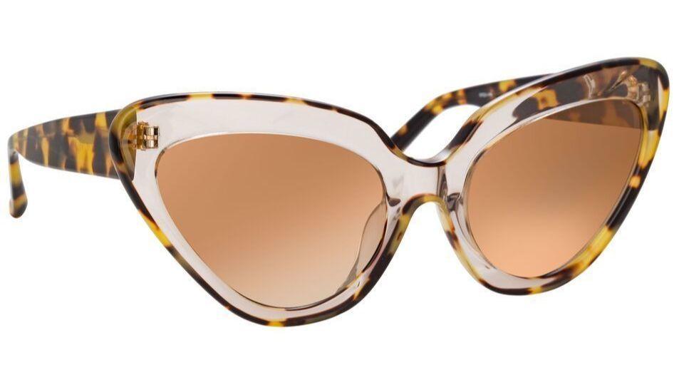 Linda Farrow x Erdem 29 C1 Cat Eye Sunglasses.