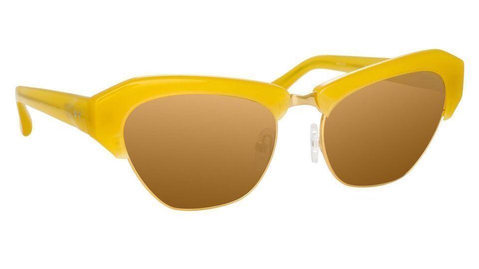 Linda Farrow x Dries Van Noten 160 C1 Cat Eye Sunglasses.