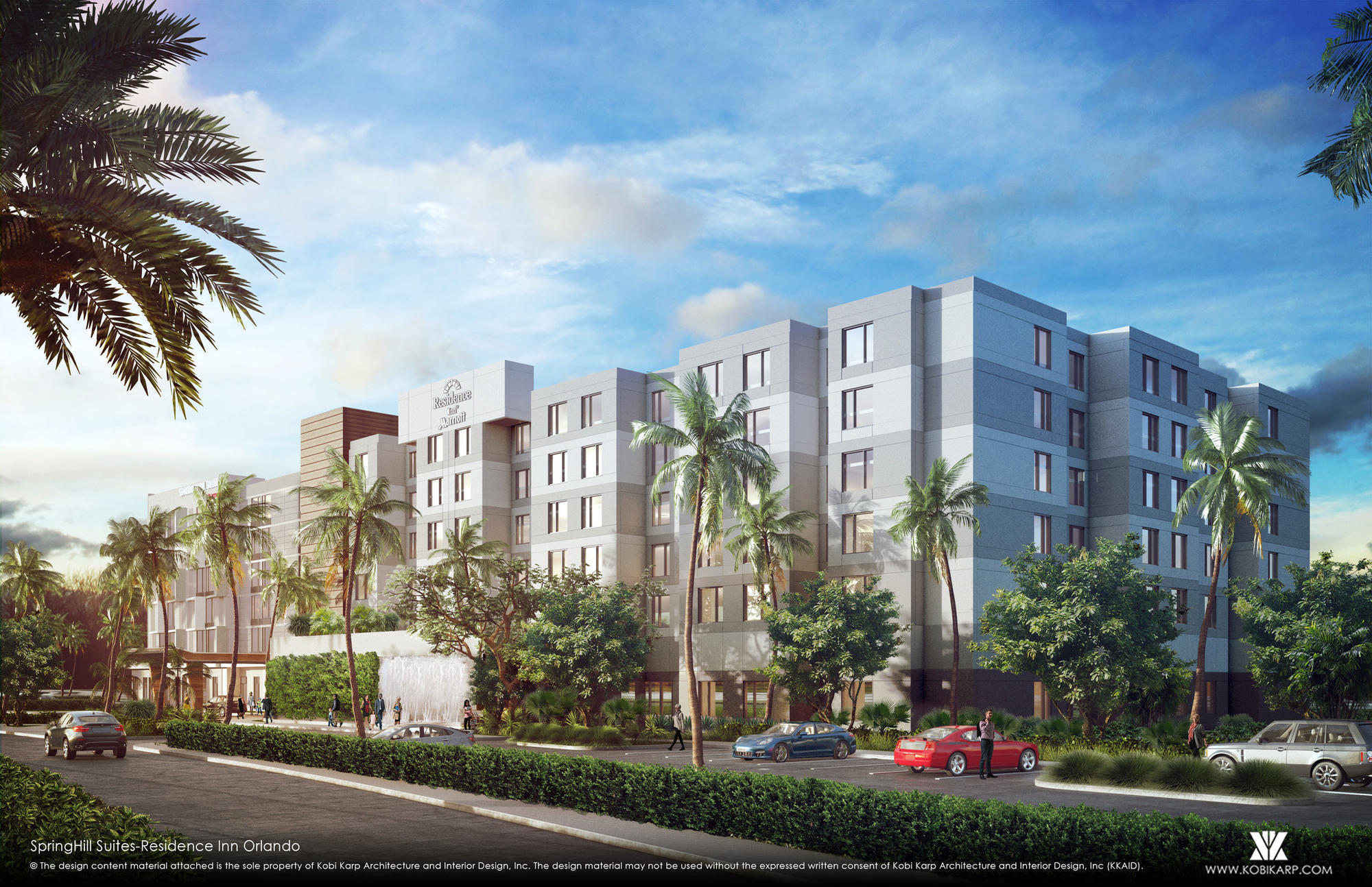 Marriott Hotels Near Mall At Millenia To Open Wednesday