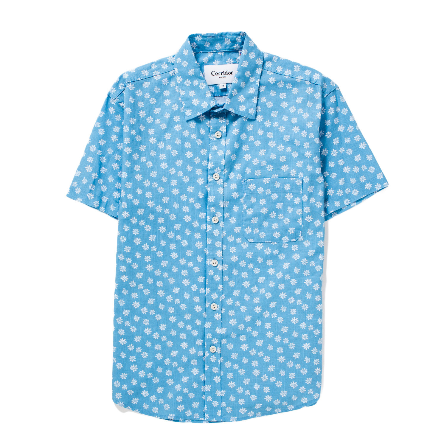 Short-sleeved shirts in fun prints from New York menswear brand Corridor.
