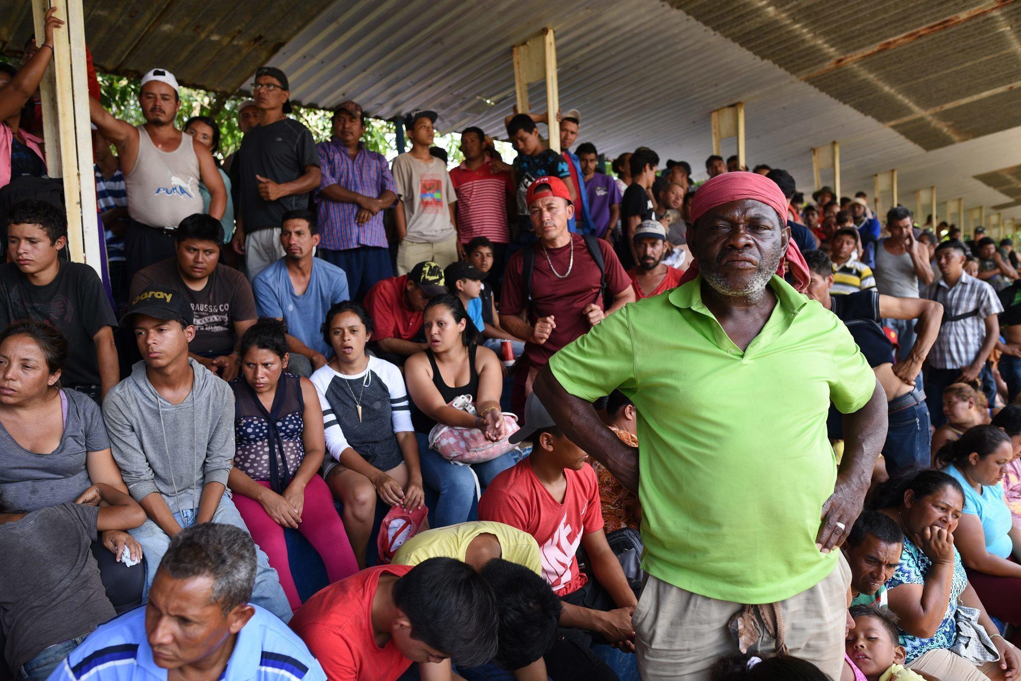 Image result for mexico, migrant caravan, photos