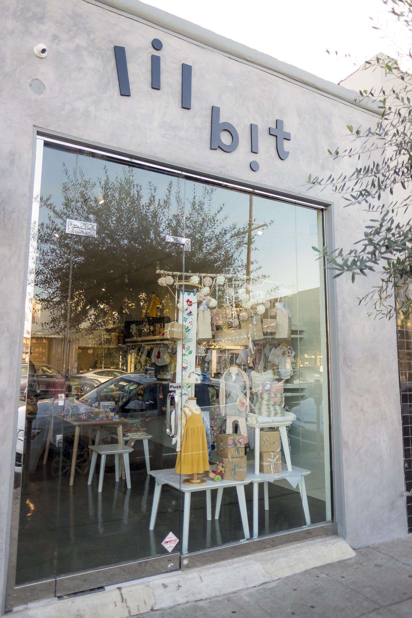 Children's store Lil Bit is on West 3rd Street in Los Angeles.