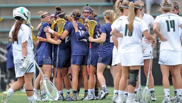 Saturday's Navy-Loyola Maryland women's lacrosse game moved up to 1 p.m.