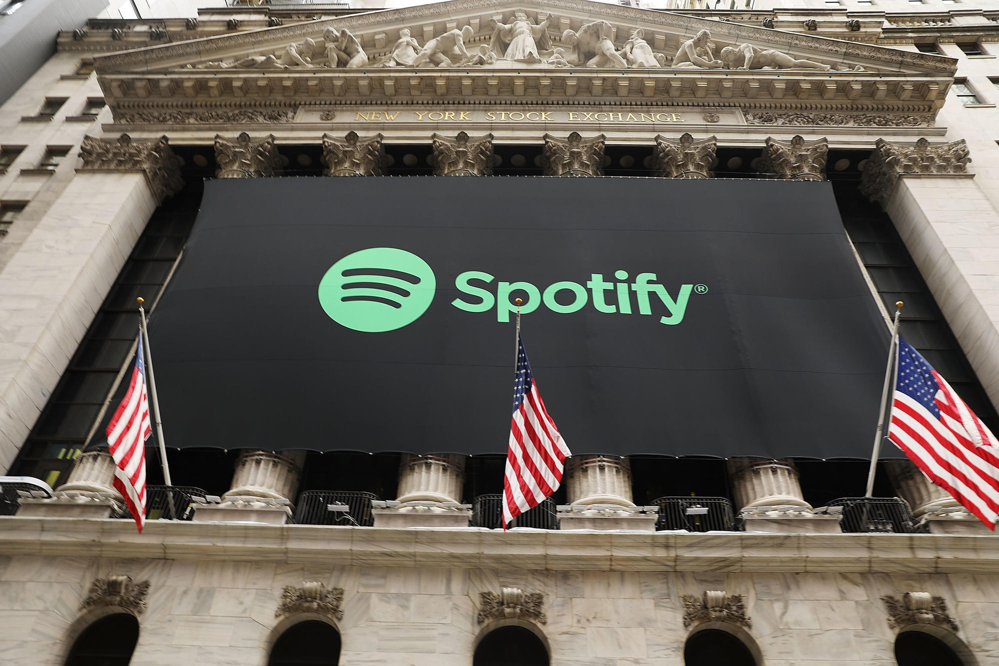 Spotifys stock falls from 16590 opening price chicago tribune buycottarizona Choice Image