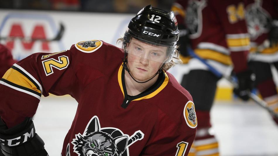593606c74 AHL  Chicago Wolves Rookie Relishes Chance To Play Close To Home - Glenview  Announcements