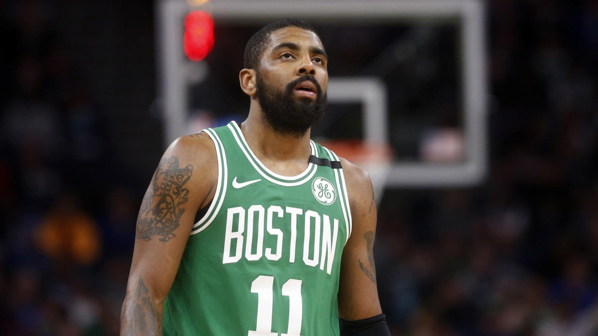 Celtics' Kyrie Irving will miss the playoffs following knee surgery - Chicago Tribune