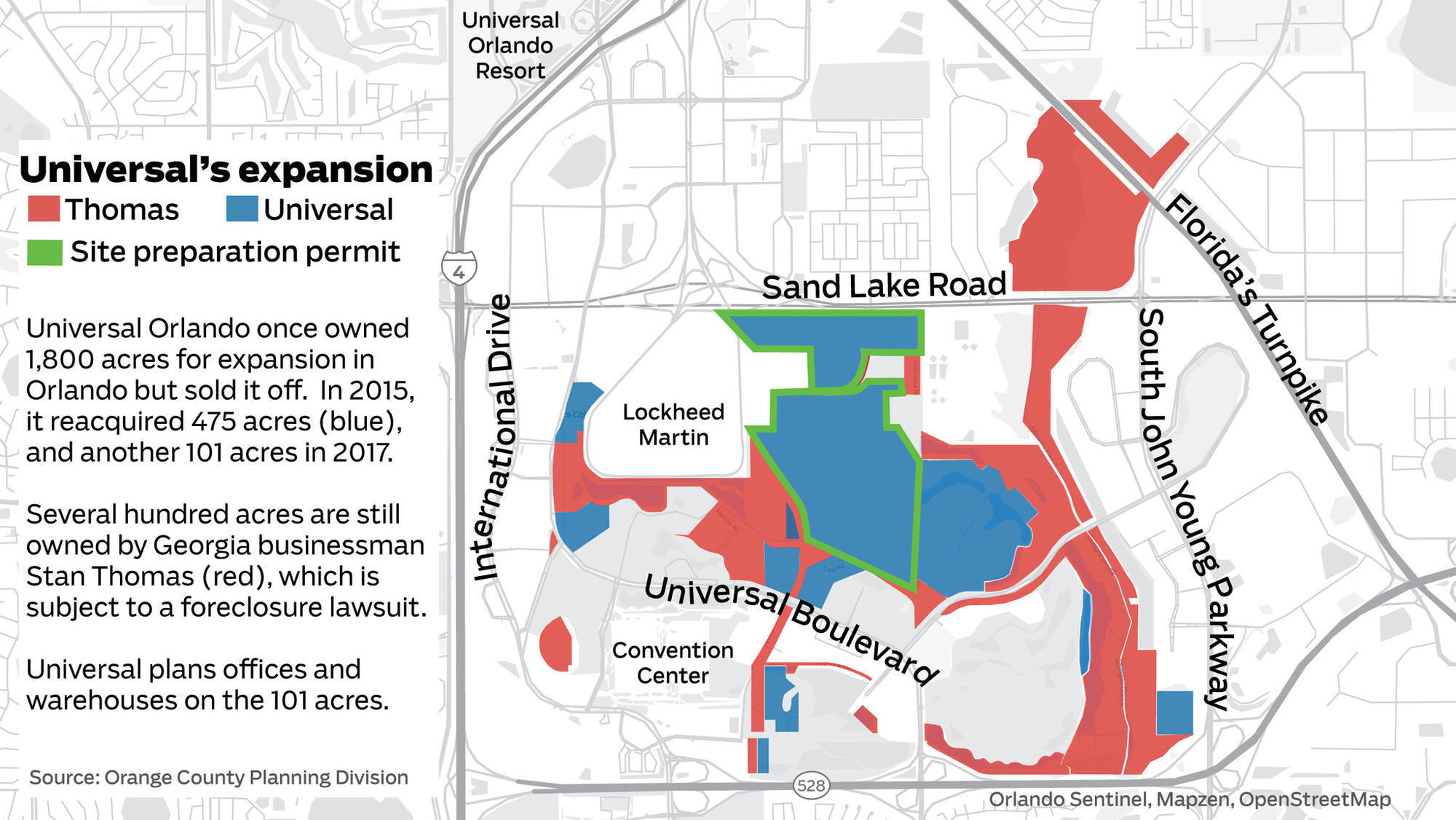 Universal orlando plows ahead on expansion land orlando sentinel ccuart Gallery