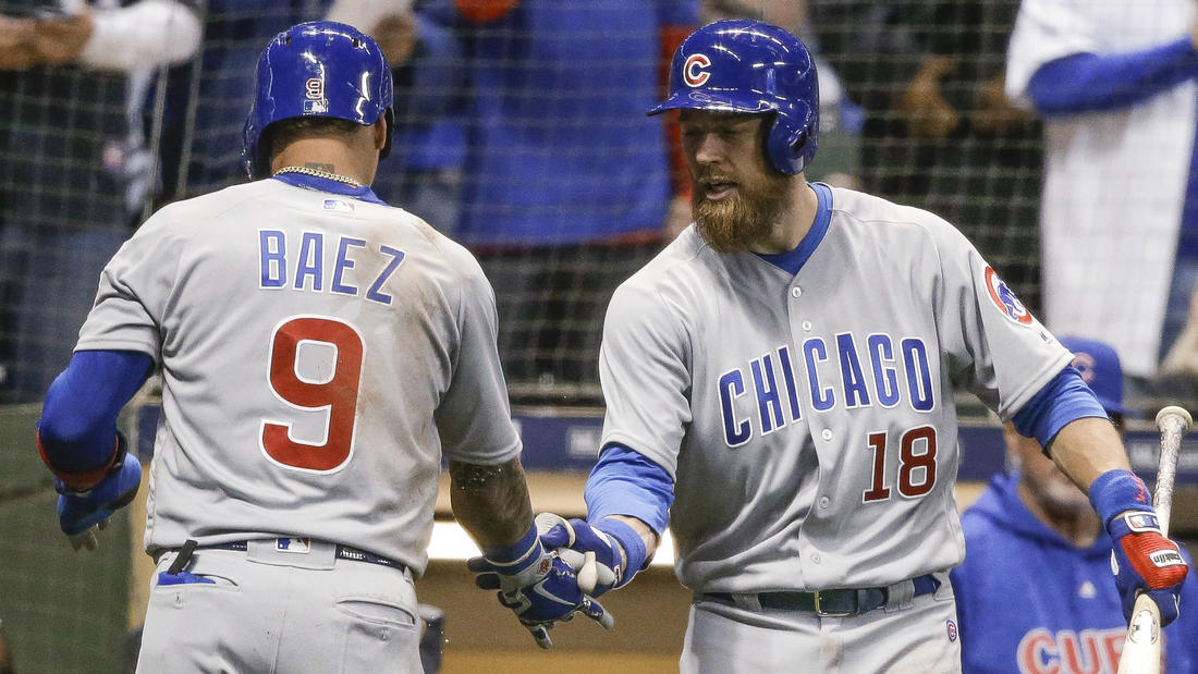 Cubs 8, Brewers 0