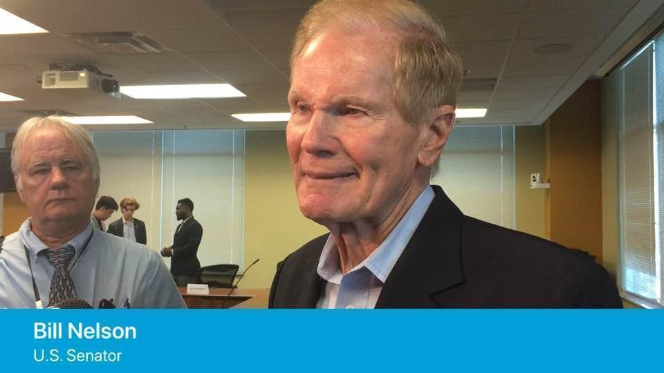 Bill Nelson discusses U.S. Senate race against Rick Scott