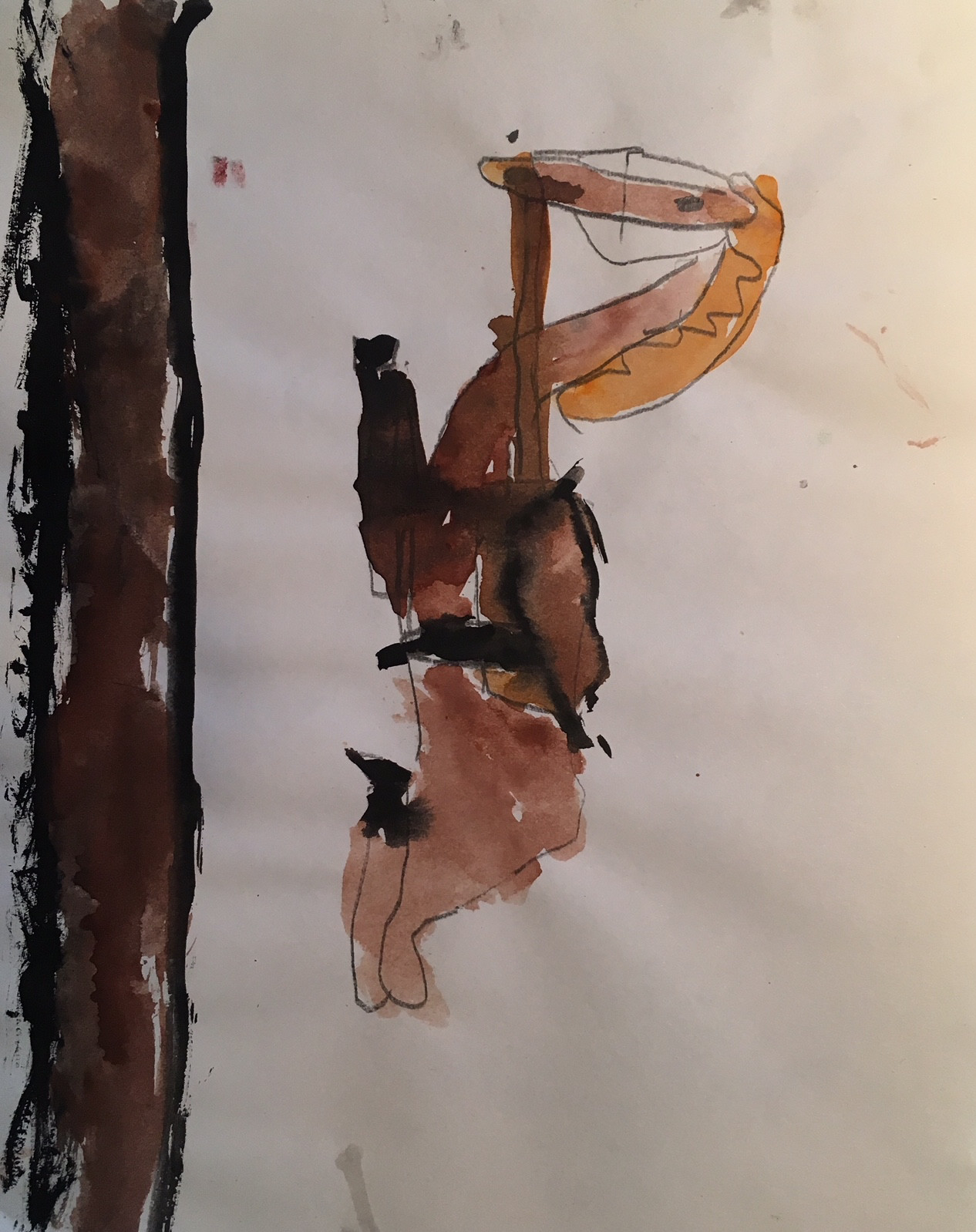 Mattia Biagi's art from when he was 7.
