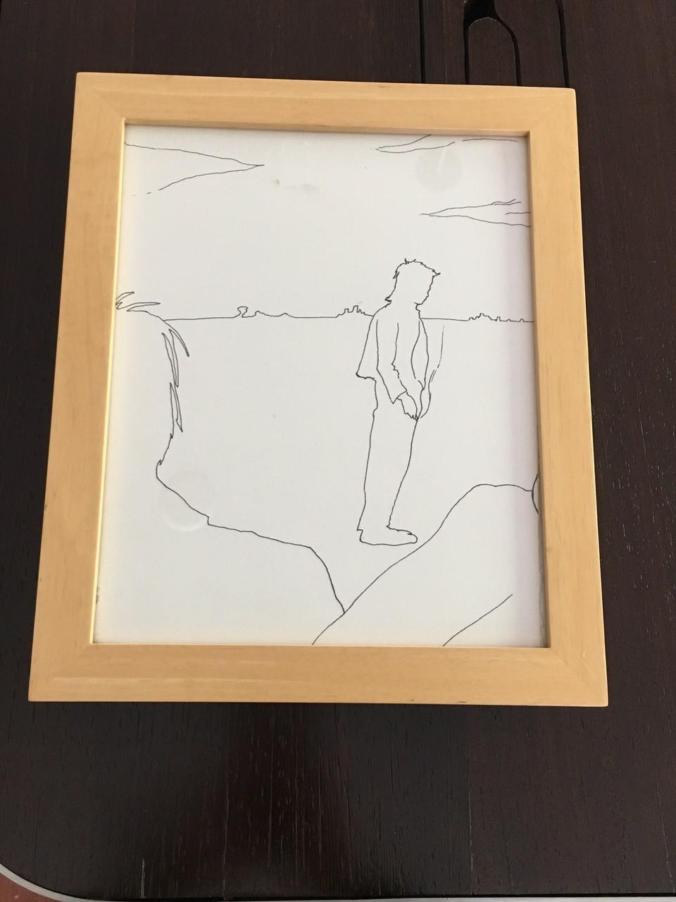 Doug Aitken's drawing, created when he was a teen.