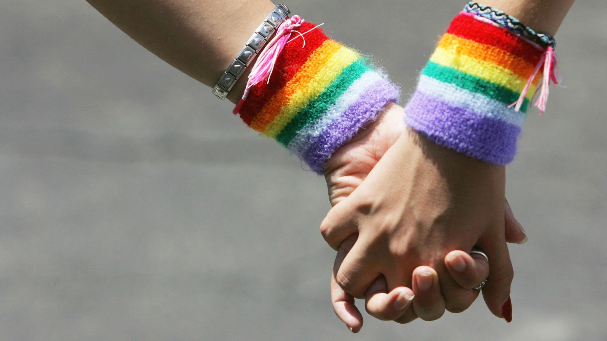 gay couple love