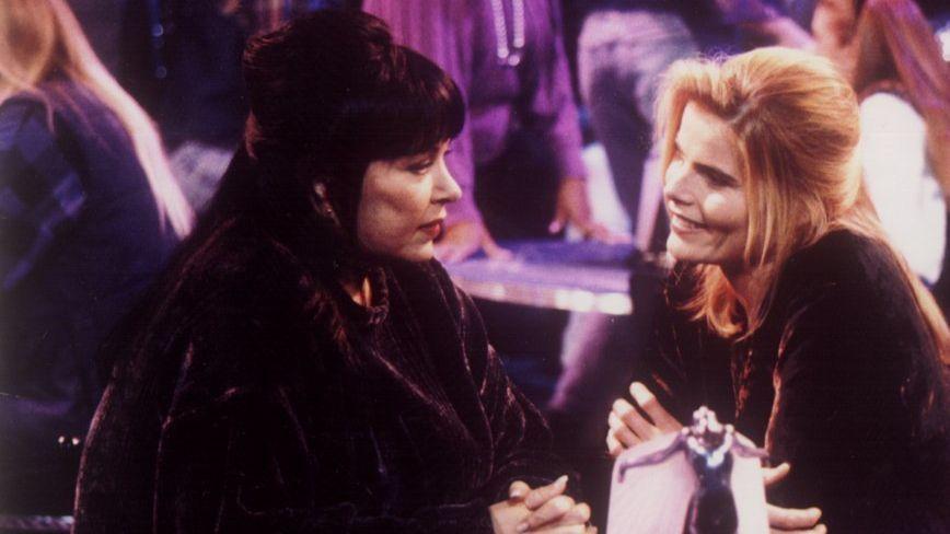 Roseanne and Mariel Hemingway