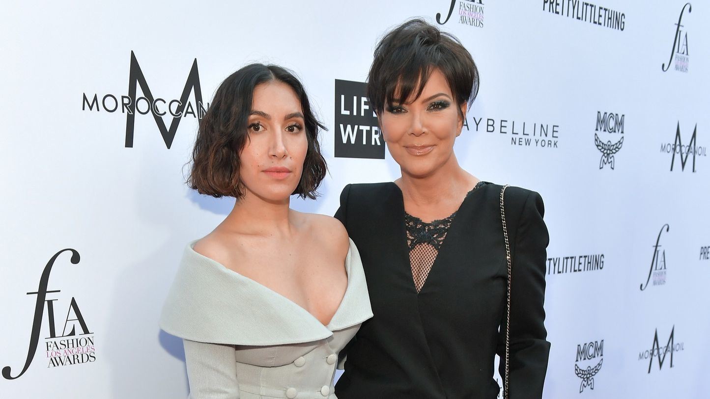 Honoree Jen Atkin and Kris Jenner.