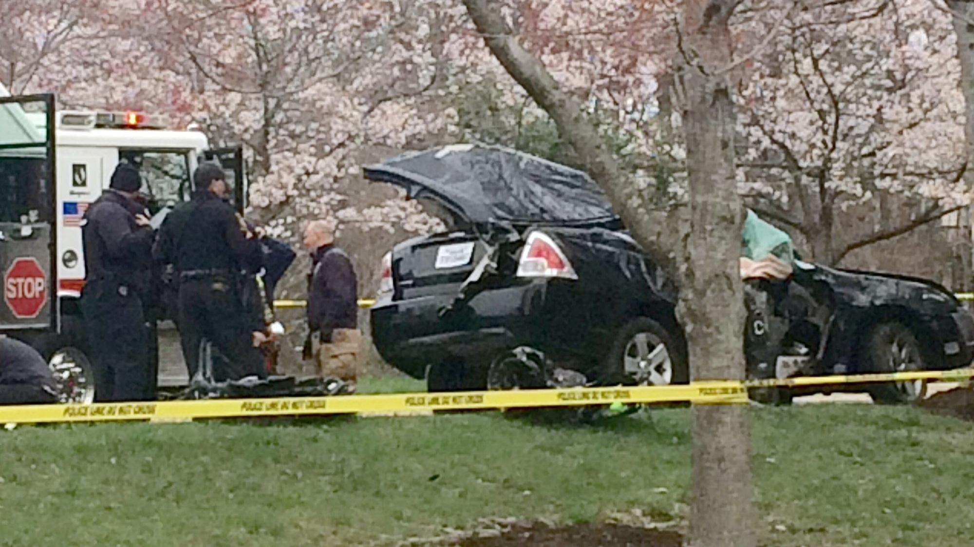 Car Accident Lost Tree Village On