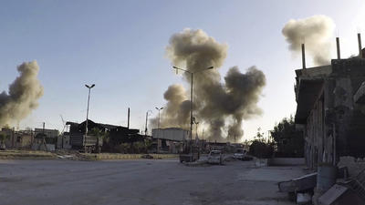 Nerve gas used in Syria attack, leaving victims 'foaming at the mouth,' evidence suggests