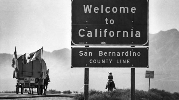 From the Archives: Traveling to California in the slow lane