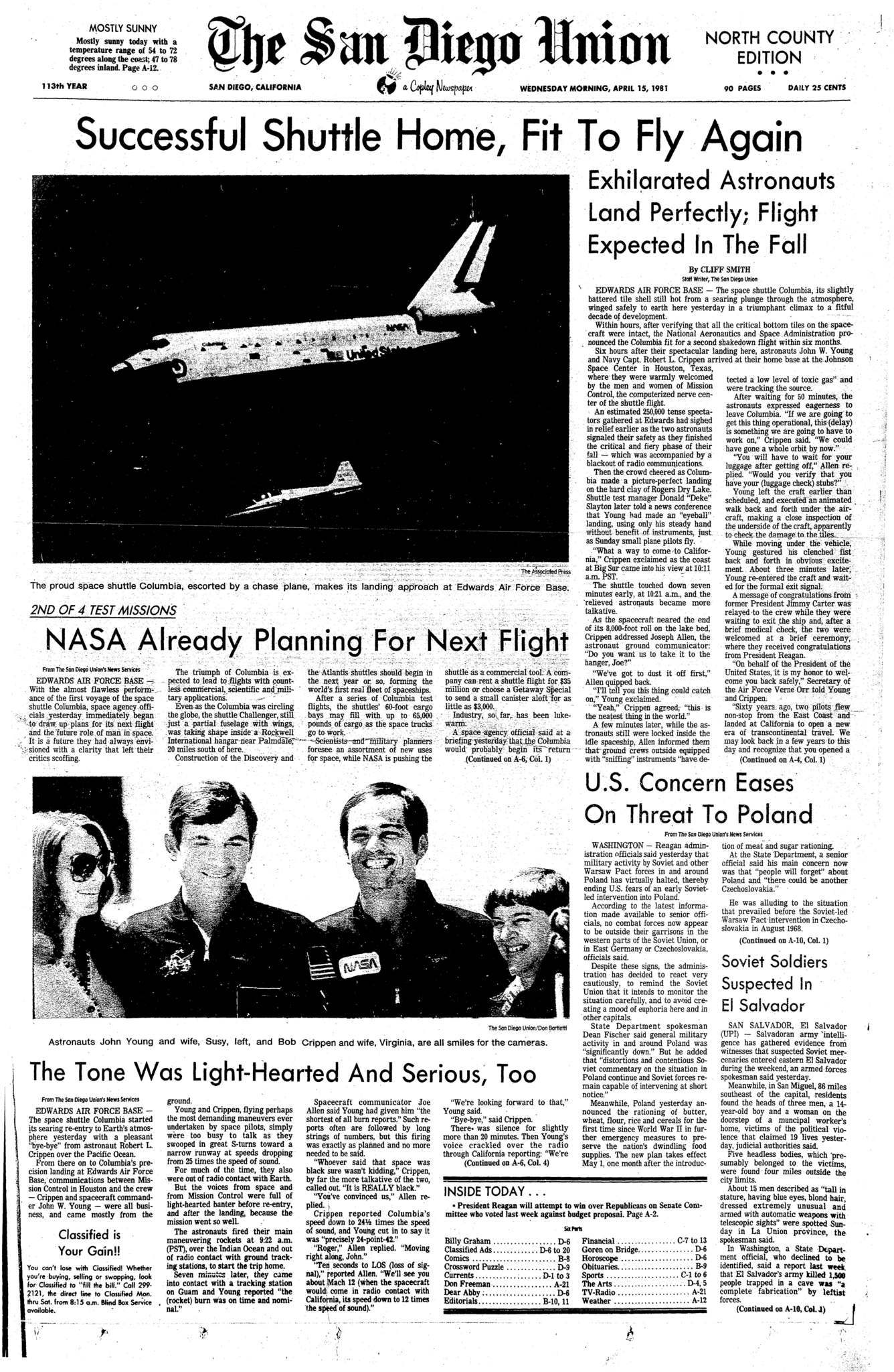 April 15, 1981
