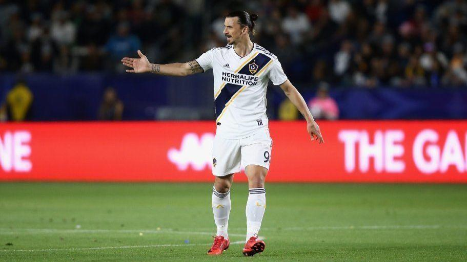 Fire Sell Out Galaxy Game Featuring Zlatan Ibrahimovic