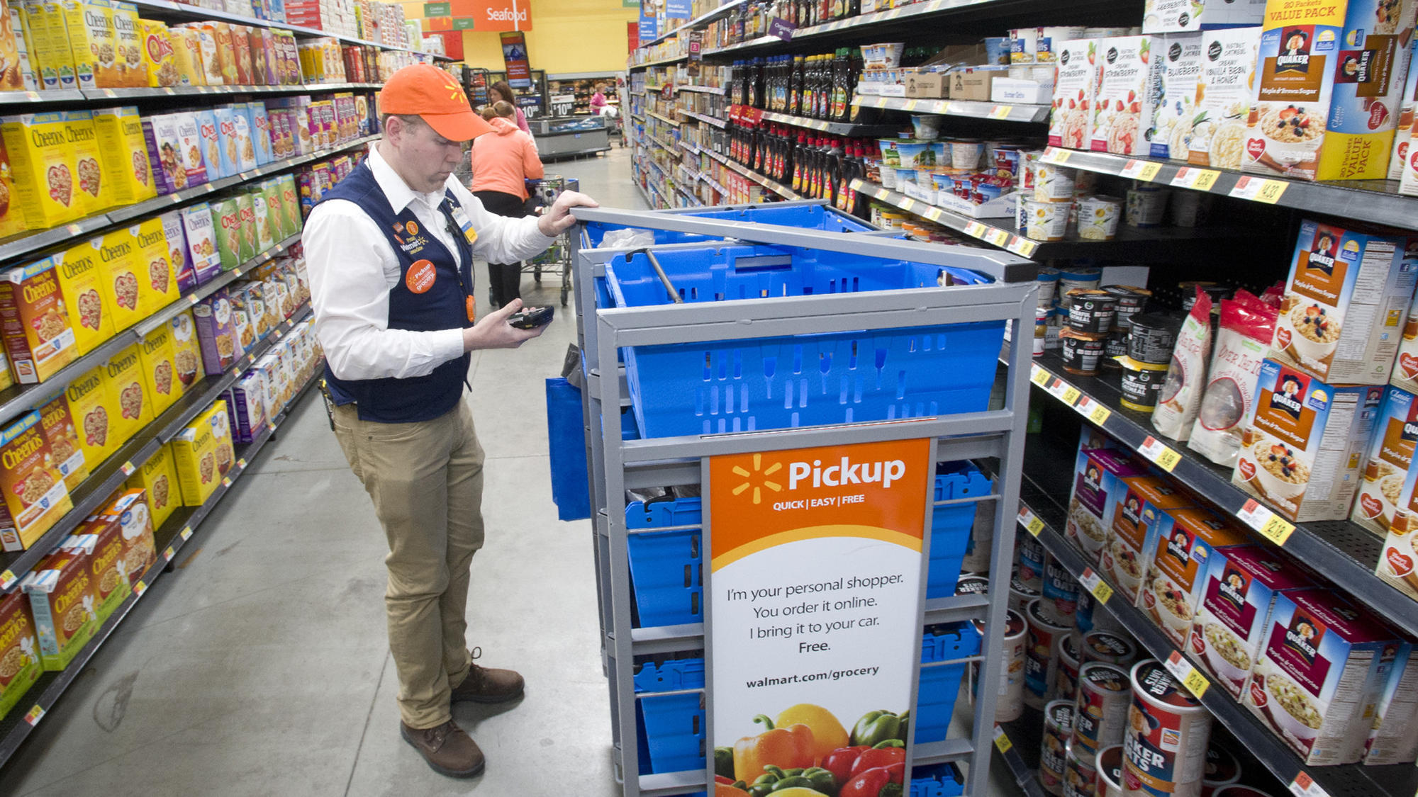 walmart rolling out millions of dollars in store upgrades