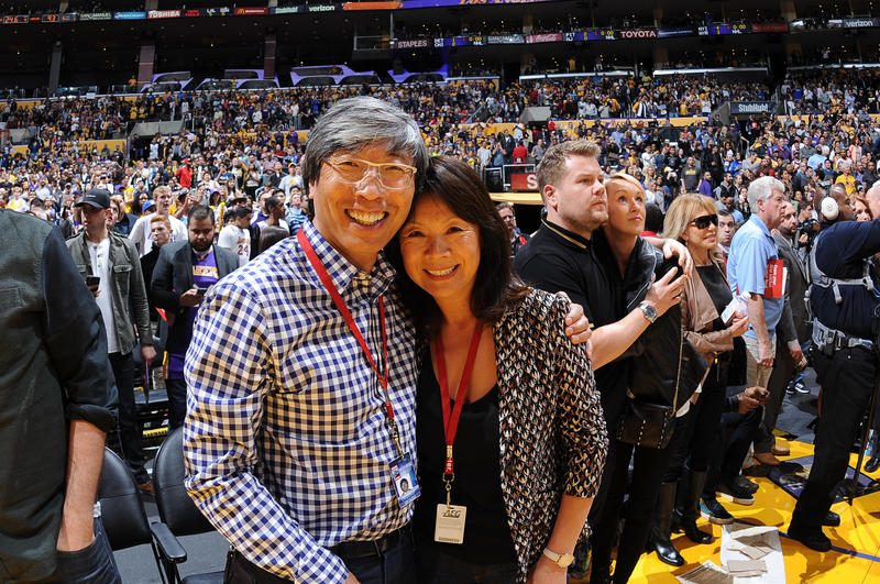 Dr. Patrick Soon-Shiong and Michele B. Chan