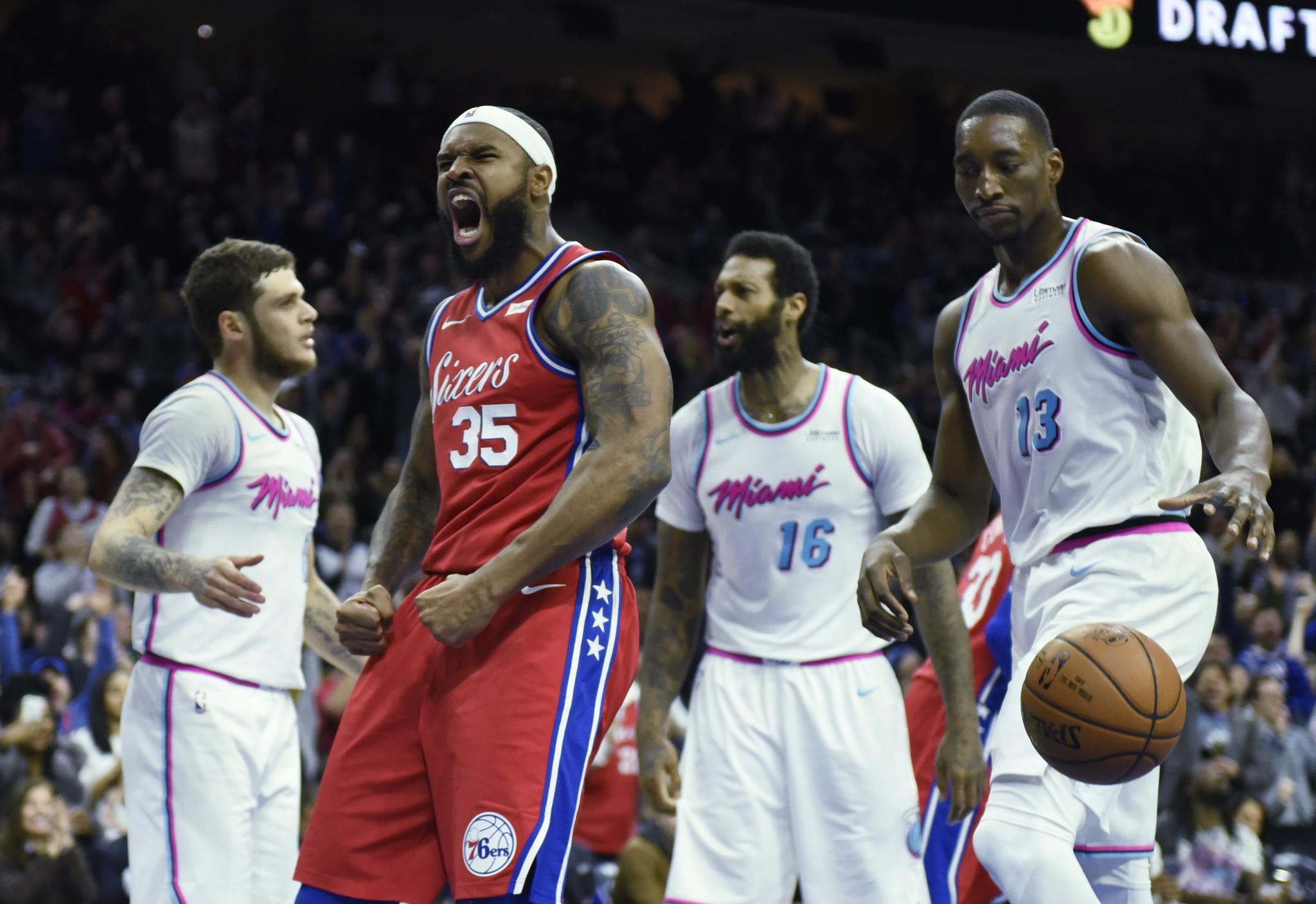 Who has the edge? Miami Heat vs. Philadelphia 76ers - Sun ...