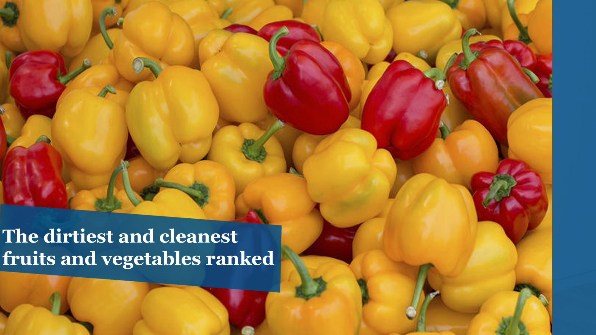 Pesticide guide: The dirtiest and cleanest fruits and vegetables ranked