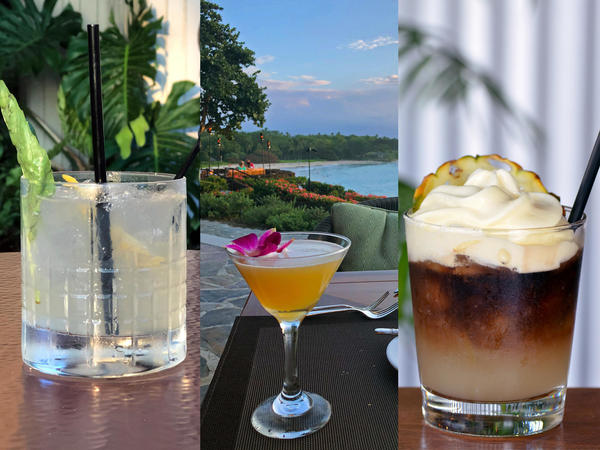 These hand-crafted cocktails are the toast of the Kohala Coast