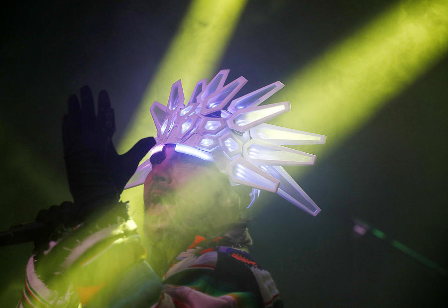 Jay Kay of Jamiroquai. (Luis Sinco / Los Angeles Times)