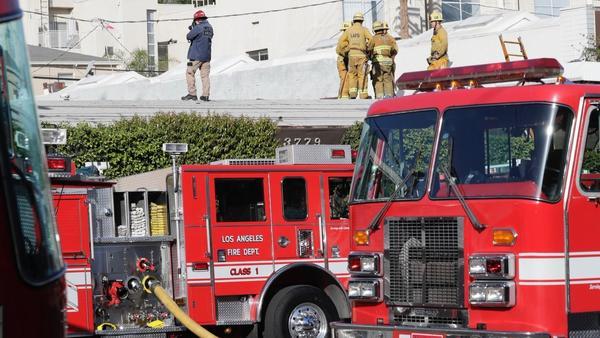 2 killed, three others are hurt in music studio blaze in Studio City