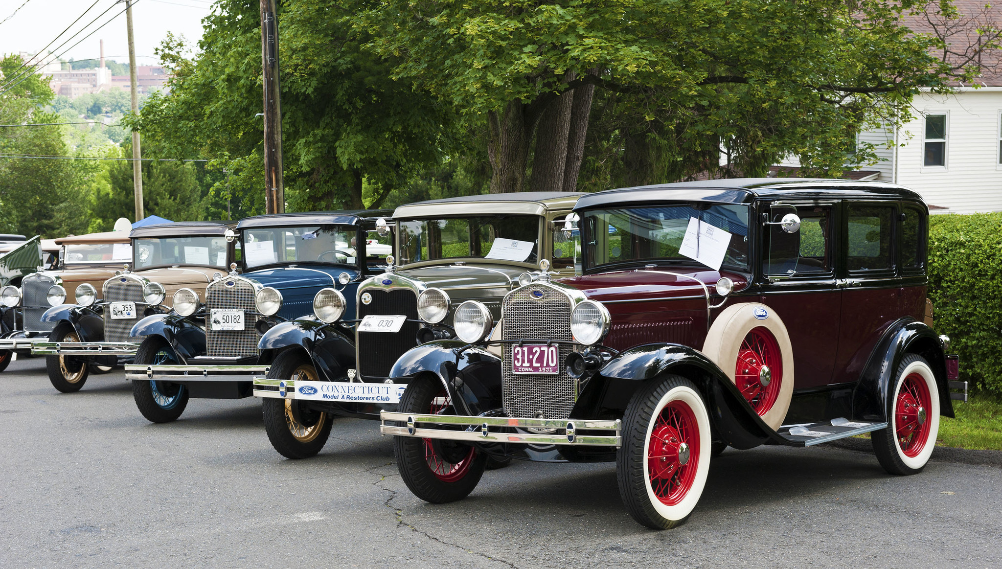 Model A\'s and Vintage Cars Gather to Help Children and Youth ...