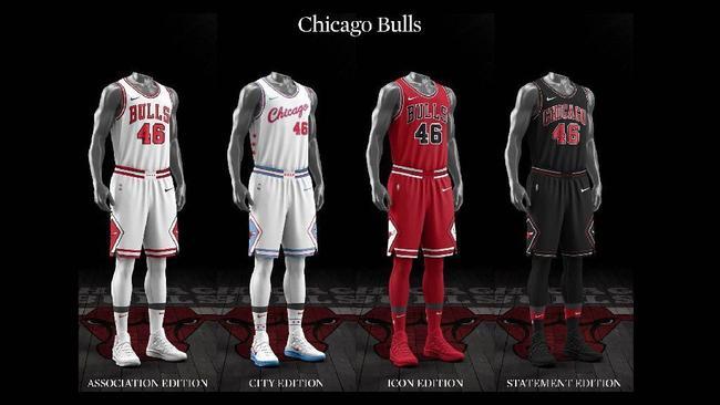 Ranking the NBA's new Nike designed uniforms Chicago Tribune