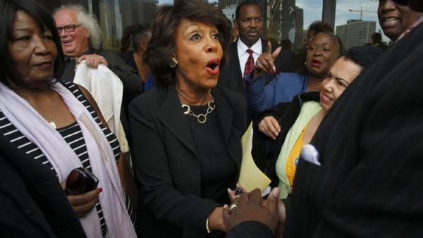 With a guilty plea, man expresses remorse for death threat against Maxine Waters