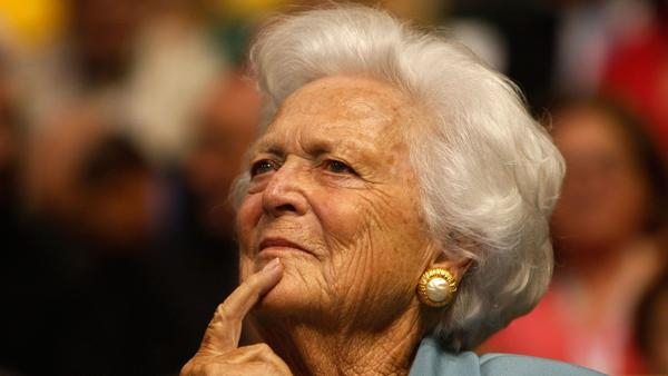 Barbara Bush dies at 92; popular first lady was also the mother of a president