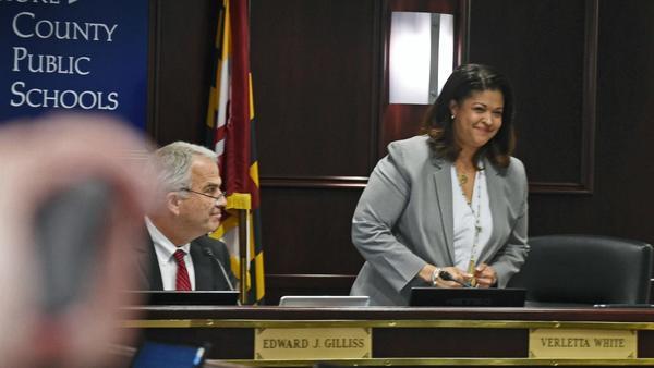 Baltimore County school board votes to make Verletta White the next superintendent | Baltimore Sun
