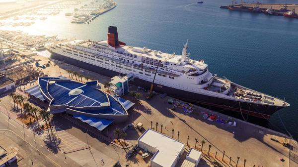 Former ocean liner Queen Elizabeth 2 opening as luxury hotel in Dubai