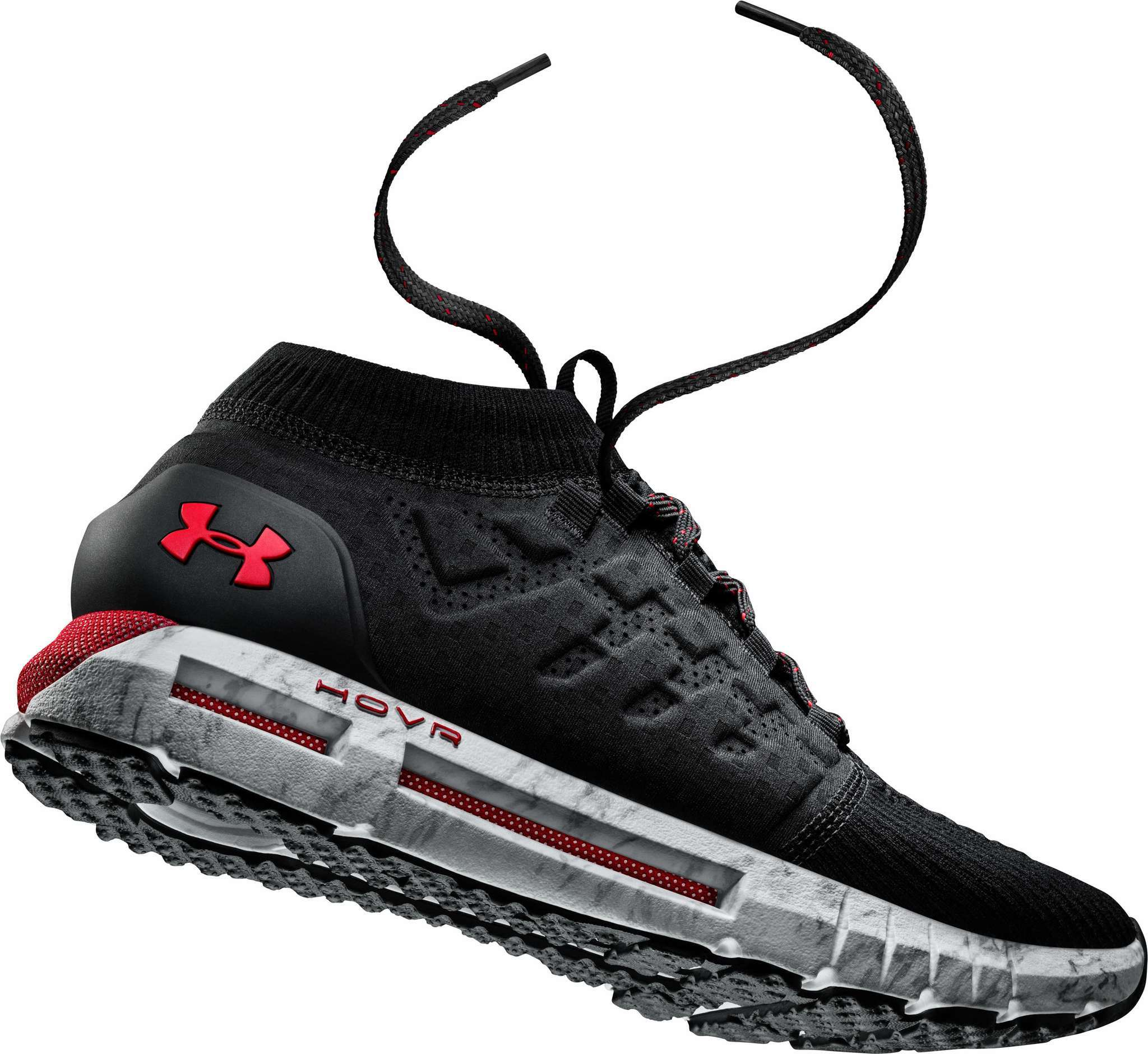 UnderArmour Charged-up smart running shoe.