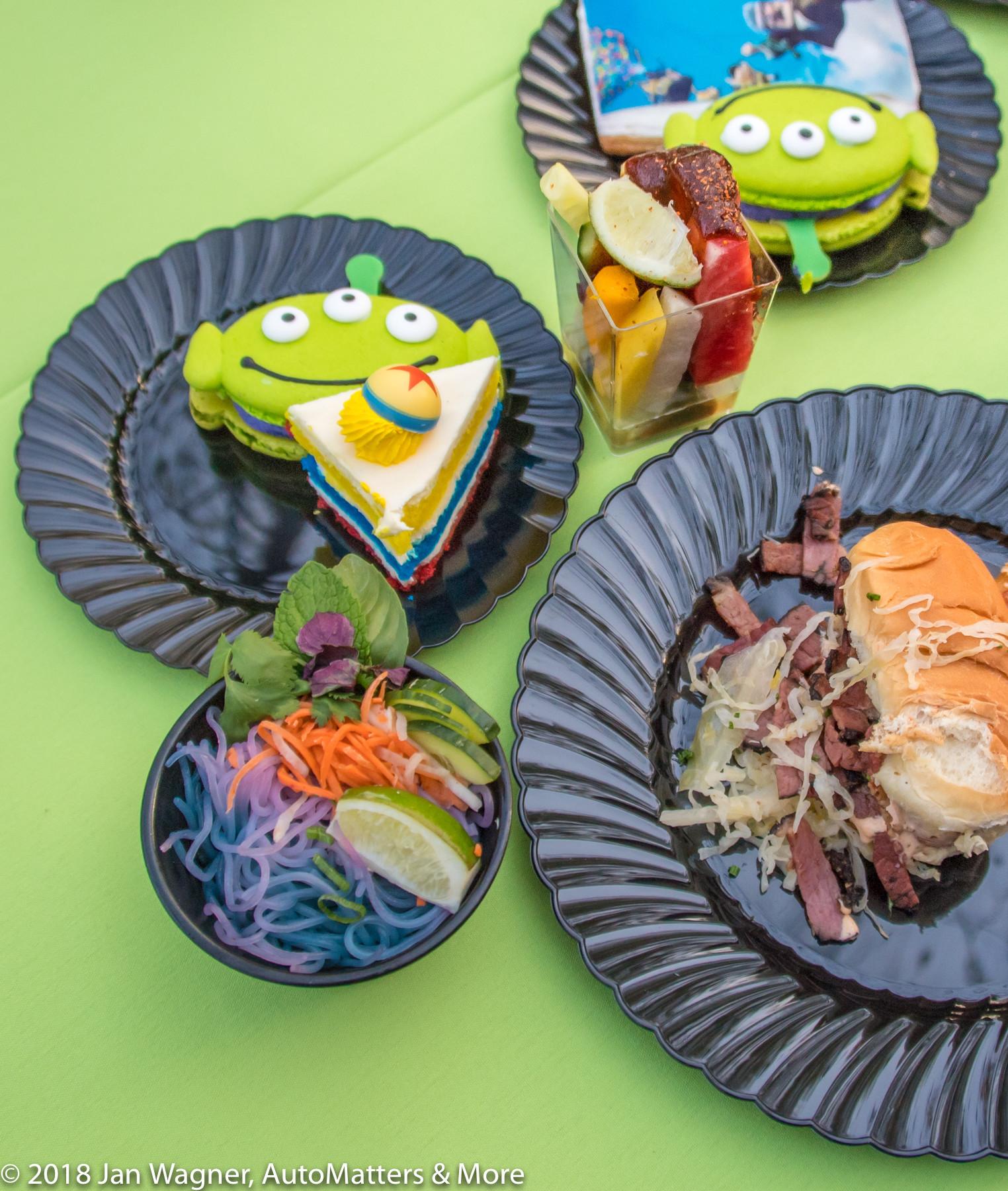 Pixar food