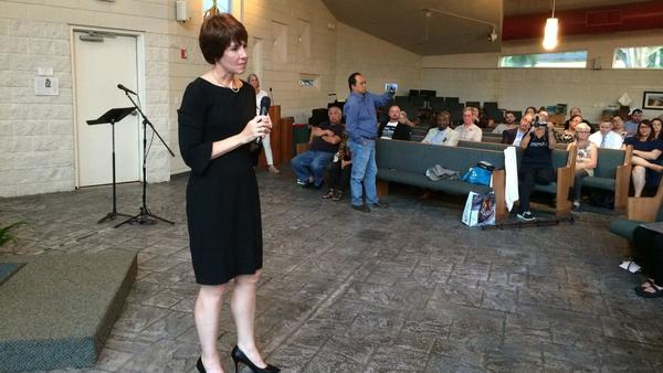 Gwen Graham at Orlando town hall: 'I will have Florida back on the right path'