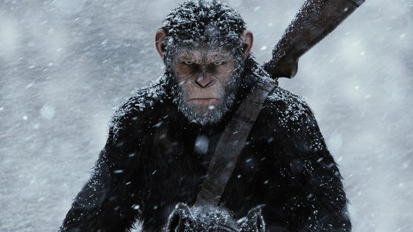 Saturday's TV highlights and weekend talk shows: 'War for the Planet of the Apes' and more