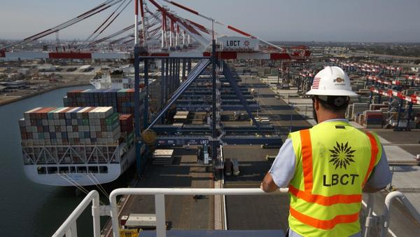 U.S. reportedly raises objections to state-run Chinese company taking control of Long Beach port terminal