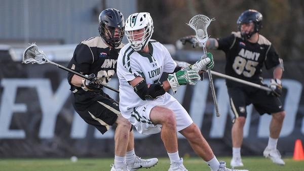 Offense for Loyola men's lacrosse proved it can produce despite quiet showing from Pat Spencer