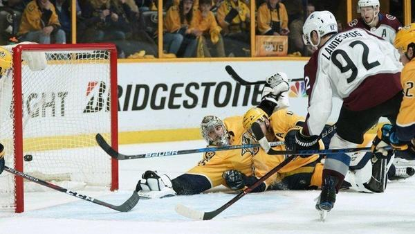 Stanley Cup playoffs: Avalanche score two goals in final five minutes against Predators to force Game 6