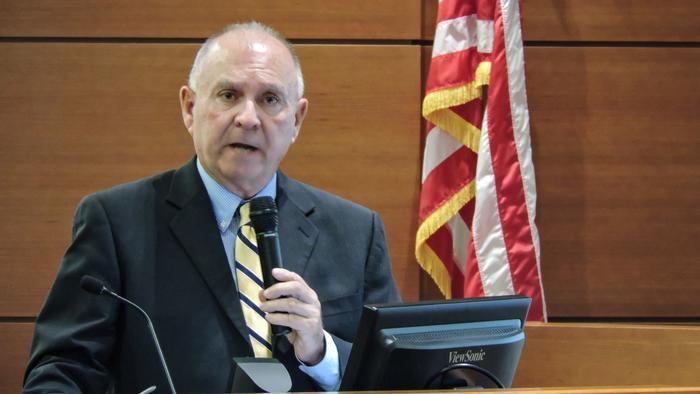 Broward's chief administrative judge,Jack Tuter.