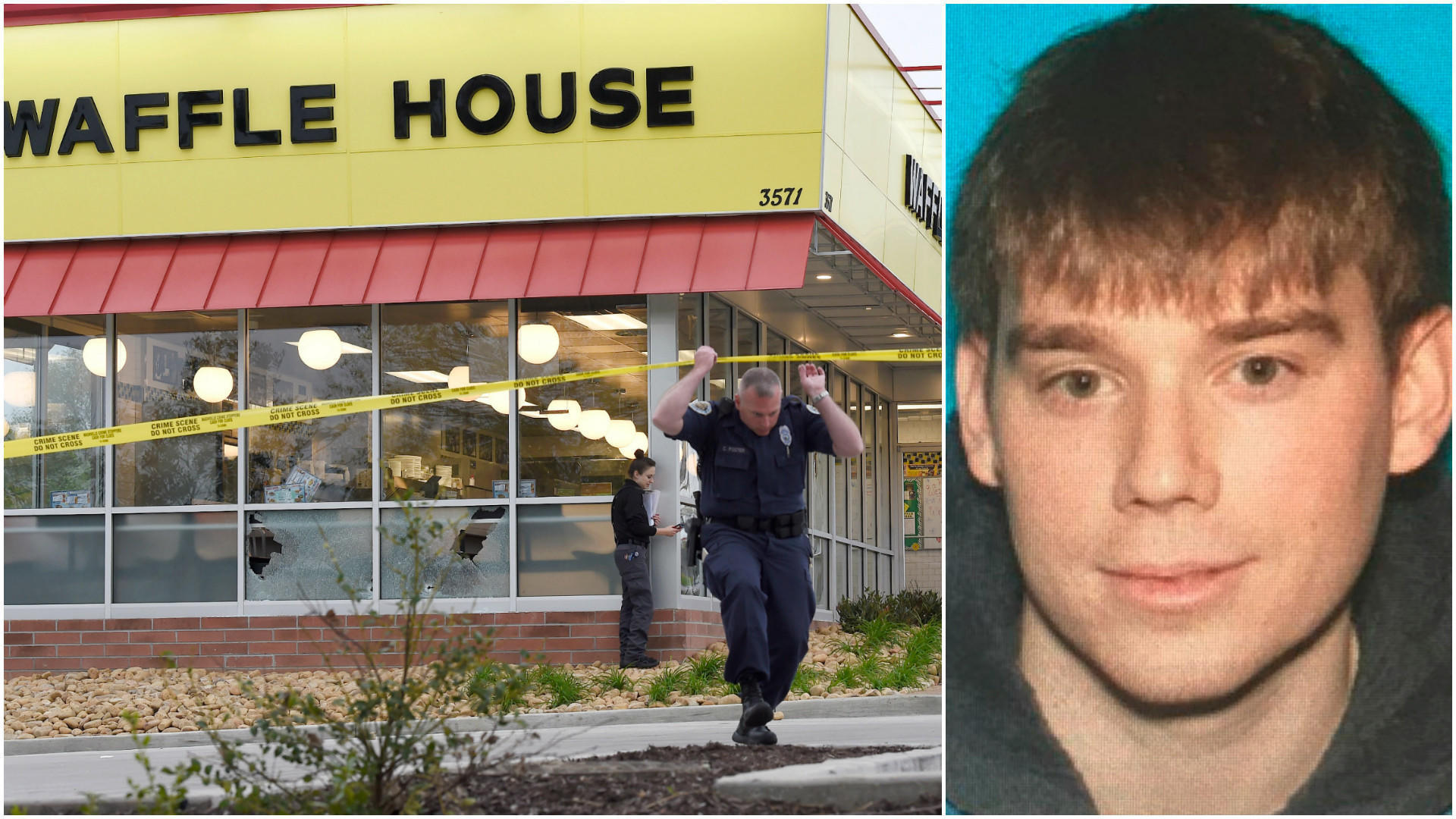 Image result for waffle house shooting