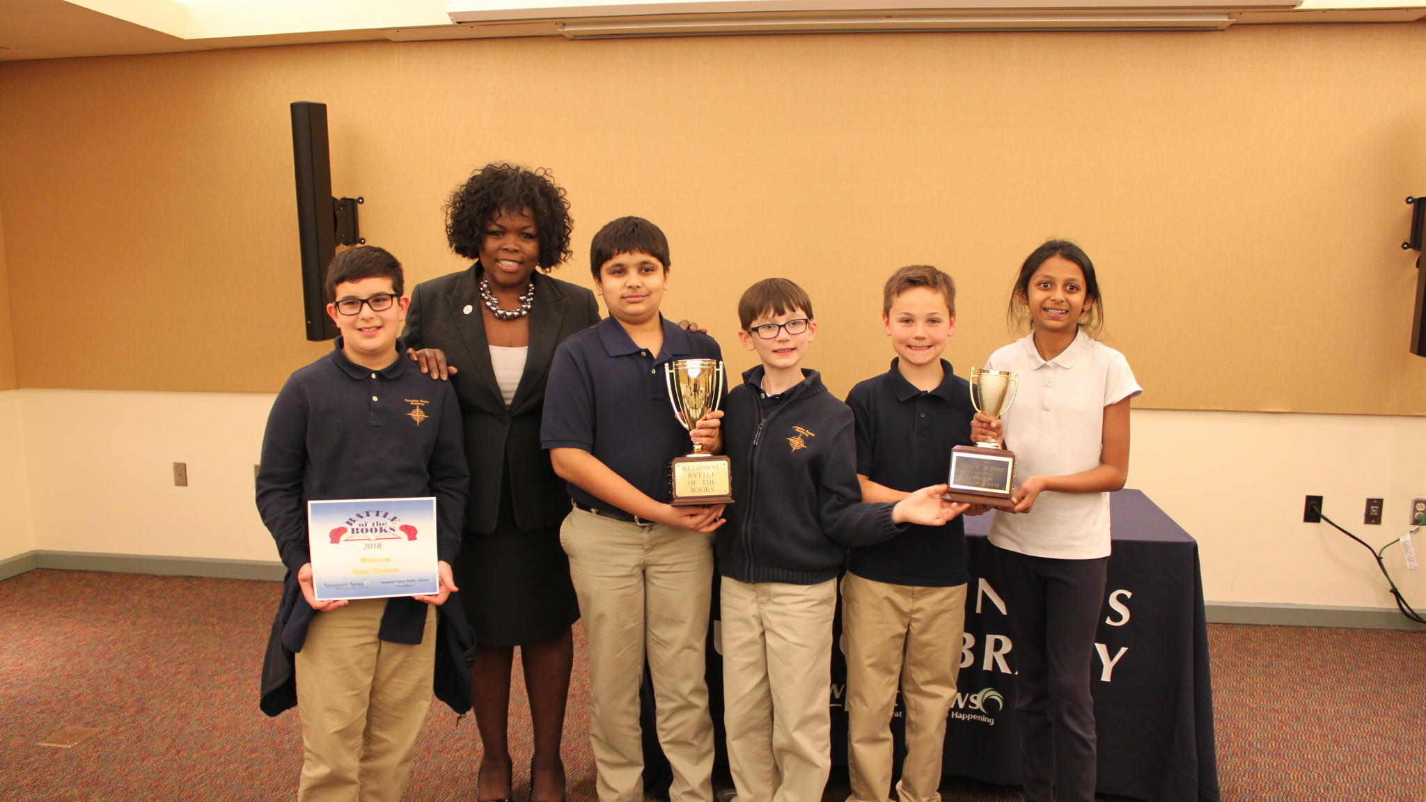 HRA Wins Regional Battle of the Books Competition