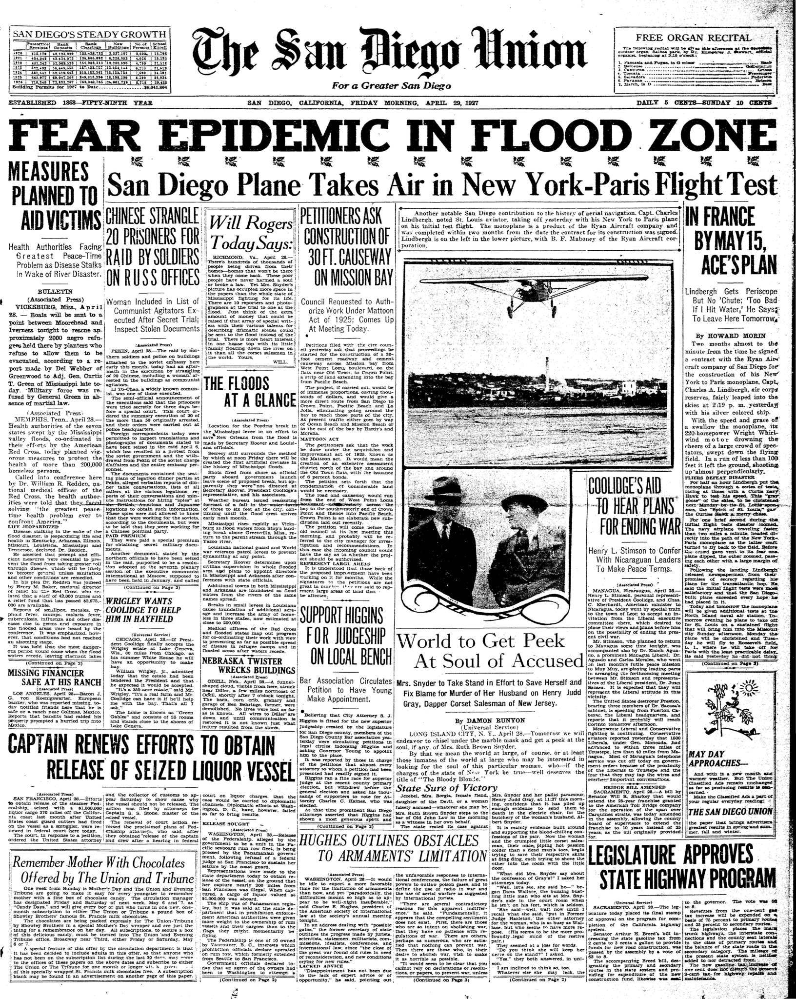 April 29, 1927