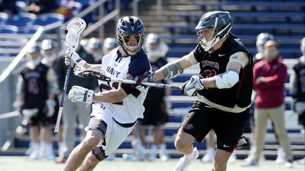 Navy men's lacrosse team encouraged by Casey Rees' recovery from head injury