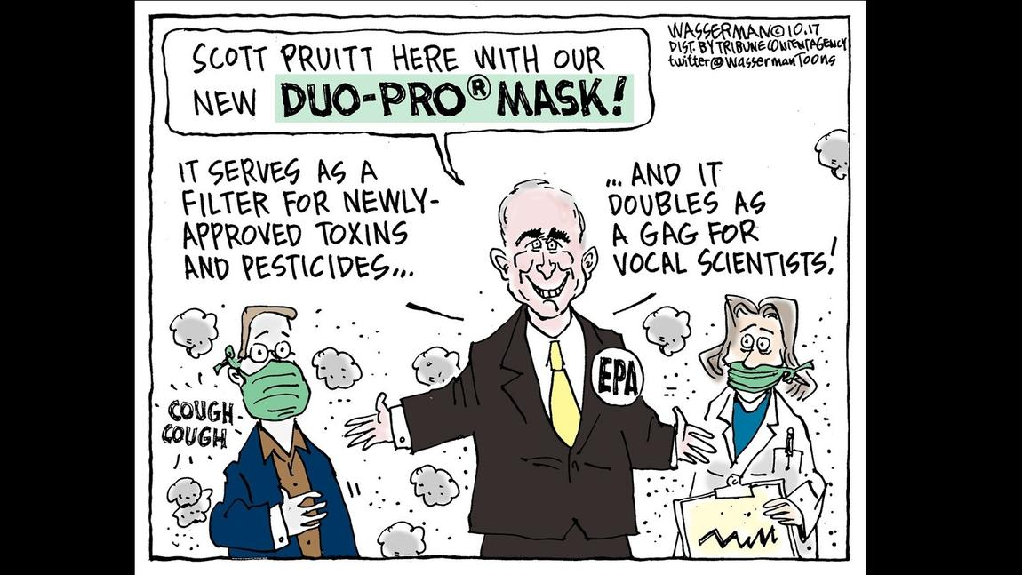 A new product from Scott Pruitt