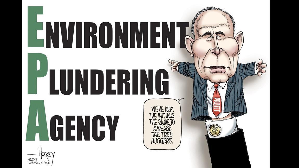 Pruitt rebrands the EPA
